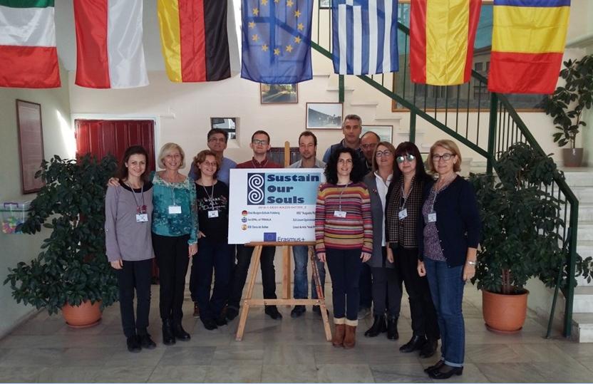 """Gli alunni del Righi partono per la Spagna nel Progetto Erasmus plus KA 229 S.O.S """"Sustain our Souls"""" 2018-1-DE01-KA229-047309"""