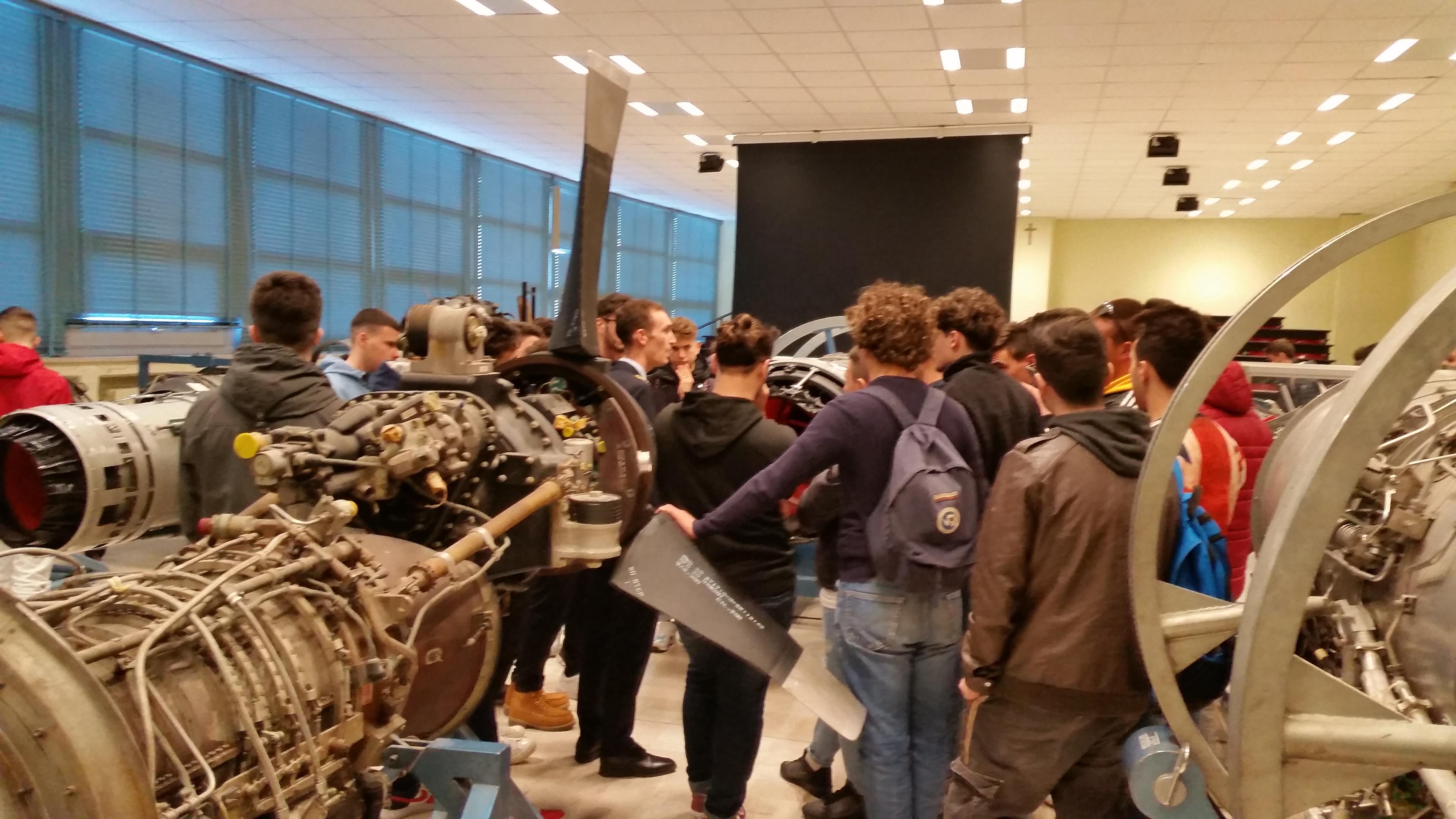 Viaggio d'istruzione In Campania (Dipartimento di Aeronautica)