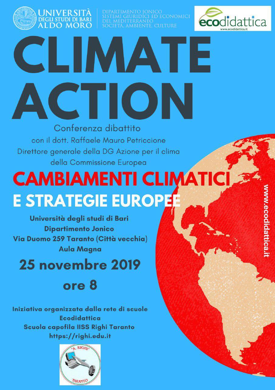 CONVEGNO CLIMATE ACTION