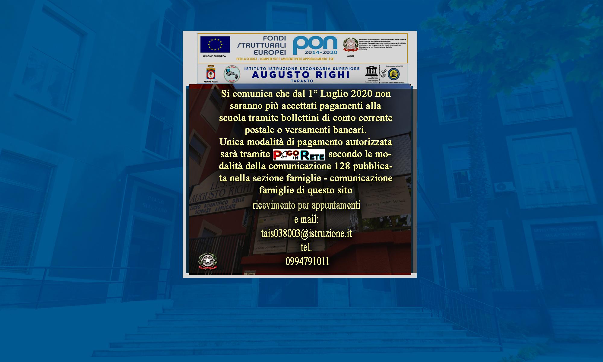IISS Augusto Righi - Taranto